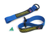 Blue hook/loop - rod strap