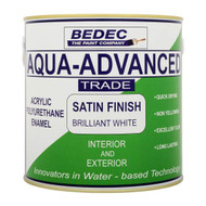 2.5Lt Bedec Aqua Advanced Satin Finish Brilliant White