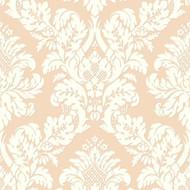 UK10456 - Peartree Glitter Damask Rose Gold Wallpaper