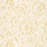343261 - Versace Antique Vintage Florals White Beige AS Creation Wallpaper