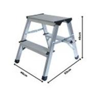 ProDec 45cm Aluminium Step Up Stool Lightweight & Practical LFD44AL