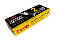 "Purdy Pro Extra 2"" & 3"" Blue Stiff Bristle Synthetic Paint Brush Set PEX23"