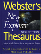 Webster's New Explorer Thesaurus