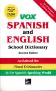Vox Spanish/English School Dictionary