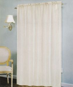 """Voile Windows Curtains / Drapes Panel 58"""" x 90"""" - Taupe"""