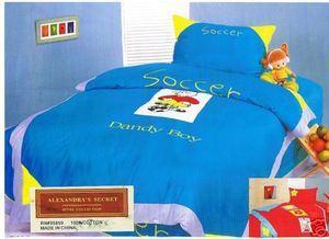 Twin 3pc Bedding Sheet Set Duvet Cover 100%Cotton 400TC