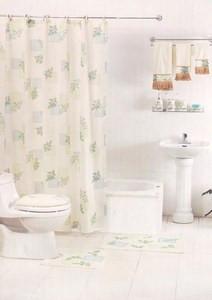 12pc Bath / Shower Accessories Set & 3pc Towels 902