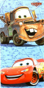 BRAND NEW Disney / Pixar CARS Bath / Beach / Pool Towel