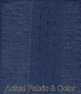 Window Curtains/Drapes Set w/Tab Headings+TieBacks Blue