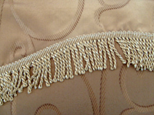 BLACKOUT Curtains Drapes attached Valance Liner - Mocca