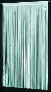 "String Thread Stripe Corridor Curtain Turquoise 40""x99"" 191"