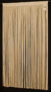 """String Thread Stripe Corridor Curtain D.Gold 40"""" x 84"""""""
