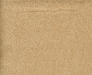 "Dark Gold Damask Table Cloth Stain Resistance 60""x90"""