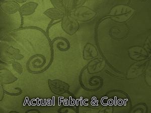 Sofa Loveseat Chair 3pc Slipcover slip cover Set- Olive