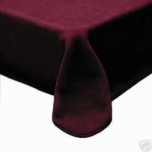 QUEEN Korean Made Plush Raschel Blanket -Solid Burgundy