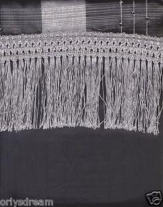 "New Elegant Curtain / Drape Set + Valance + Backing + Tie Backs ""Angela"" SILVER"