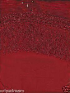 """New Elegant Curtain /Drape Set + Valance + Backing + Tie Backs """"Angela"""" BURGUNDY"""