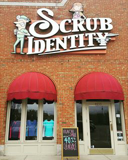 Scrub Identity Brick and Mortar Store