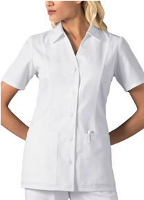 Collar Scrub Top For Nurses