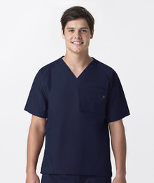 Wonderwink Men's :  5 Pocket Scrub Top for Men*