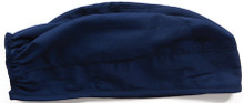 Adjustable Navy Colored Scrub Cap for Women