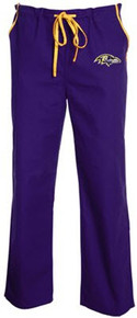Baltimore Ravens NFL Scrub Pants