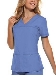 Cherokee Flexibles : V Neck Scrub Top For Women*