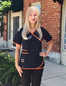 Chicago Bears Women's NFL Scrub Top