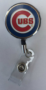 Chicago Cubs Retractable Badge Reel