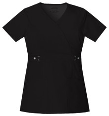 Cherokee LUXE : Jr Fit Mock Wrap Scrub Top For Women*