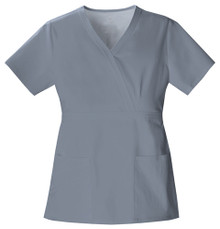 Cherokee LUXE : Mock Wrap Scrub Top For Women*