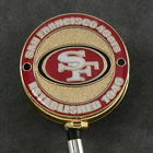 San Francisco 49er's Retractable NFL Badge Reel