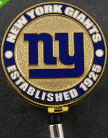 New York Giants Retractable NFL Badge Reel