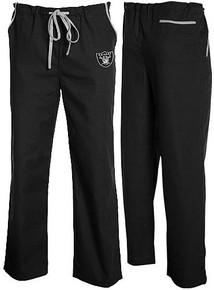 Oakland Raiders Scrub Pants