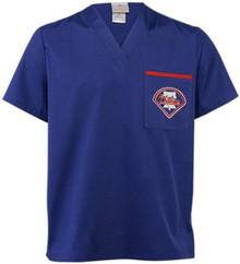 Philadelphia Phillies Men's MLB Scrub Top