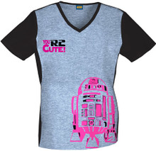 Star Wars R2D2 Women's Scrub Top