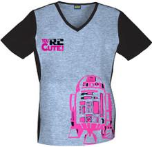 Star Wars R2D2 Women's Scrub Top