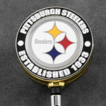 Pittsburgh Steelers Retractable Badge Reel