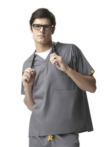 WonderWink Origins : V Neck Scrub Top For Men*