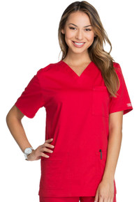 Cherokee Core Stretch :4725  V Neck Scrub Top For Women*