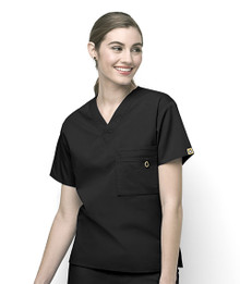 WonderWink Origins : V Neck Scrub Top For Women*