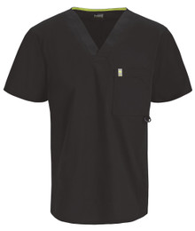 Code Happy Bliss for MEN : Antimicrobial Protection V Neck Scrub Top*
