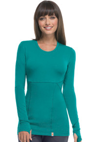 Code Happy Antimicrobial Protection Long Sleeve Knit Tee for Women*