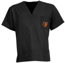 Baltimore Orioles MLB V Neck Scrub Top