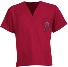 Los Angeles Angels MLB Scrub Top *10 Piece minimum required due to MLB