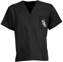 Chicago White Sox MLB V Neck Scrub Top