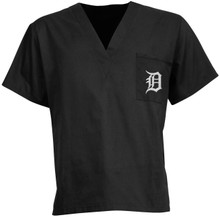 Detroit Tigers MLB V Neck Scrub Top