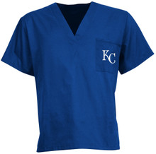Kansas City Royals MLB V Neck Scrub Top