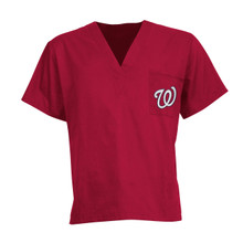 Washington Nationals MLB Scrub Top *10 Piece minimum required due to MLB
