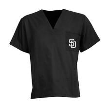 San Diego Padres V Neck Scrub Top